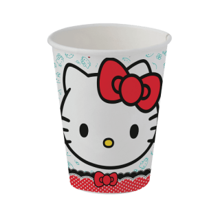 Copo de Papel Hello Kitty